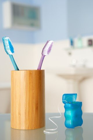 Toothbrushes and dental floss